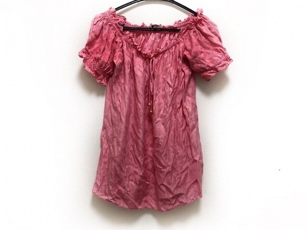 MILLY(ミリー) 半袖カットソー サイズ4 S レディース美品  ピンク