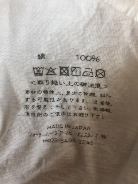 45R(フォーティーファイブ・アール) 半袖Tシャツ サイズ2 M レディース 白