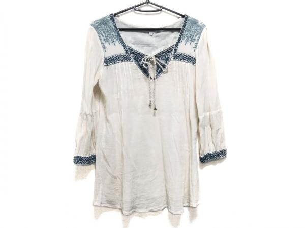 STAR MELA(スターメラ) 七分袖カットソー サイズM レディース美品  刺繍