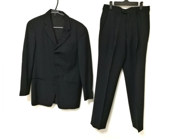 ARMANI(アルマーニ) シングルスーツ メンズ 黒 シングル/肩パッド