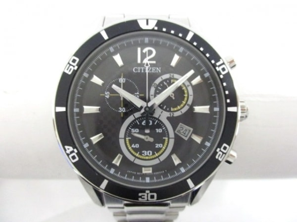 CITIZEN(シチズン) 腕時計美品  オルタナ H500-S061091 メンズ 黒