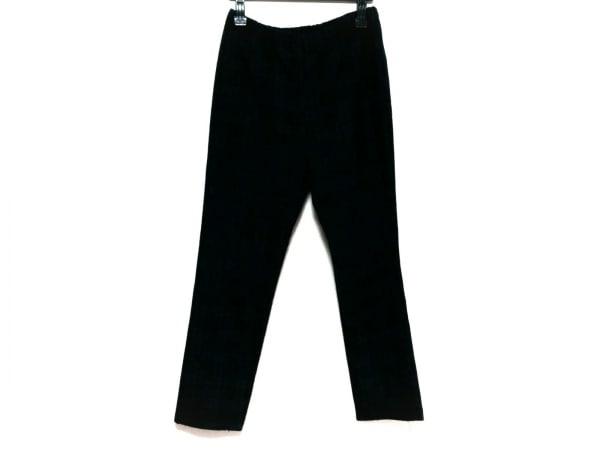ティービー/センソユニコ パンツ サイズ40 M レディース ダークグリーン×黒×マルチ