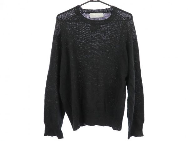 COMMEdesGARCONS HOMME(コムデギャルソンオム) 長袖セーター サイズ5 XL メンズ 黒