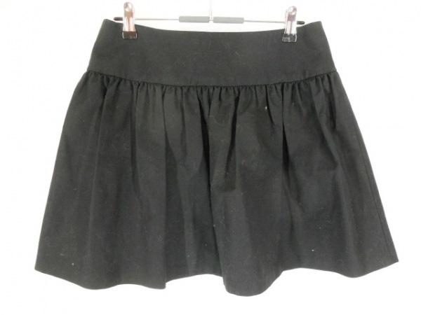 R.E.D VALENTINO(バレンチノ) スカート サイズ40 M レディース美品  黒