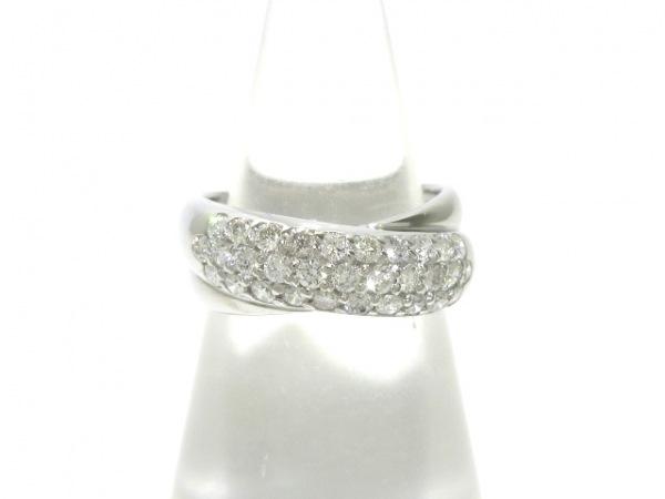 PonteVecchio(ポンテヴェキオ) リング美品  K18WG×ダイヤモンド 0.50カラット