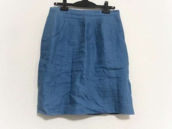 INCOTEX(インコテックス) スカート サイズ42 L レディース美品  ブルー