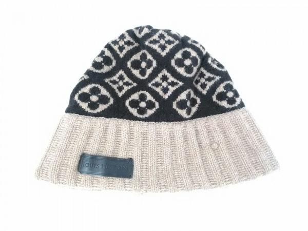 ルイヴィトン ニット帽美品  ボネ・スキー モノグラム M71950 マロン モノグラム