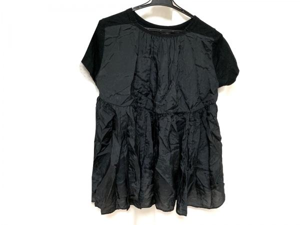 Sacai(サカイ) 半袖カットソー サイズ2 M レディース美品  黒