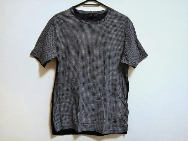 EMPORIOARMANI(エンポリオアルマーニ) 半袖Tシャツ サイズM メンズ美品  白