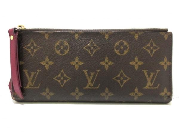 ルイヴィトン 長財布 モノグラム 21 x 9 cm ポルトフォイユ・アデル M61269