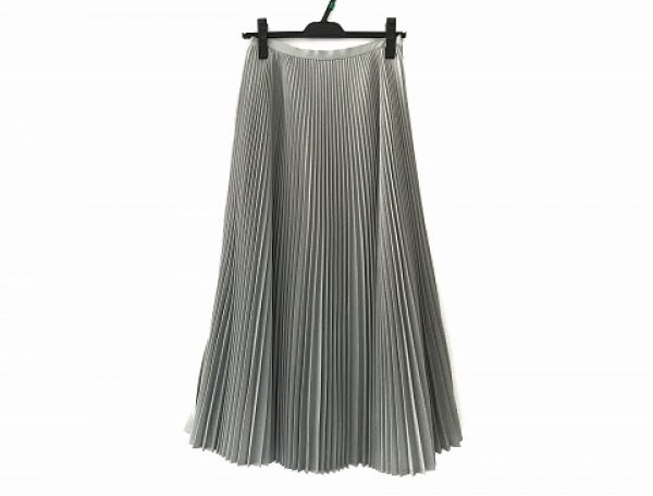 ツルバイマリコオイカワ ロングスカート サイズ34 S レディース美品  グレー