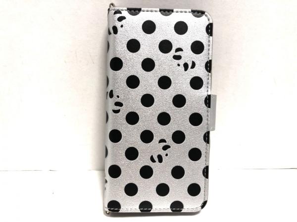 アンテプリマミスト 携帯電話ケース美品  ML18FAE738 シルバー×黒 合皮