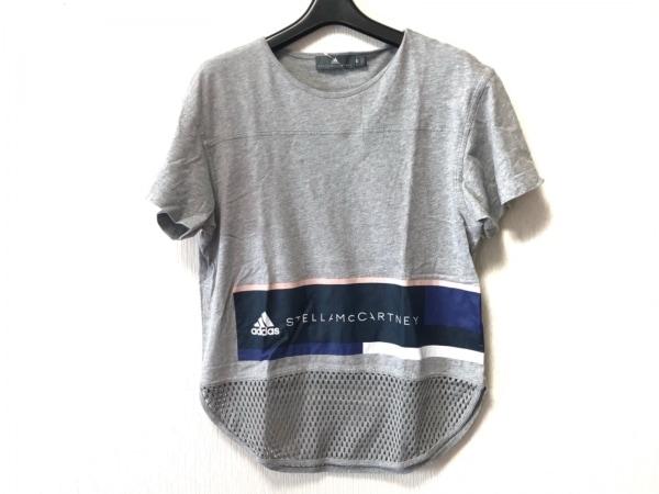 アディダスバイステラマッカートニー 半袖Tシャツ サイズM レディース メッシュ