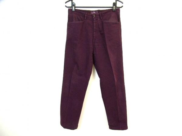 ETRO(エトロ) パンツ サイズ48 M メンズ ボルドー