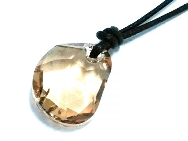 SWAROVSKI(スワロフスキー) ネックレス美品  スワロフスキークリスタル×化学繊維