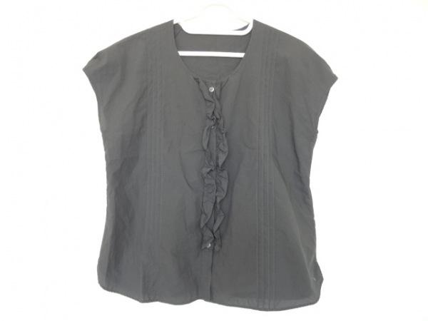 マーガレットハウエル ノースリーブシャツブラウス サイズ2 M レディース美品  フリル