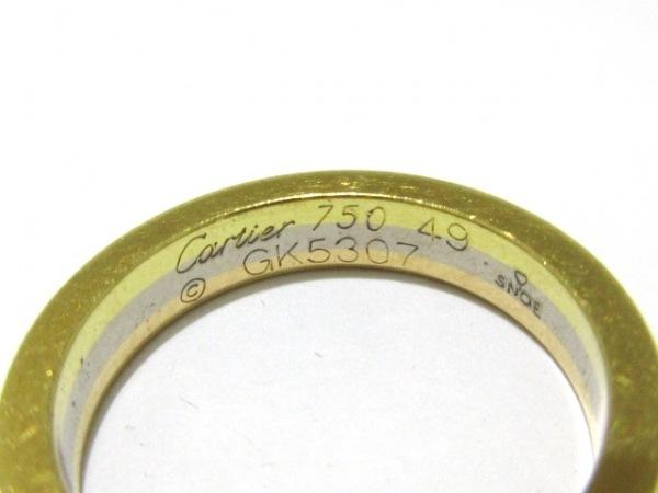 Cartier(カルティエ) リング 49美品  スリーカラー K18スリーカラー