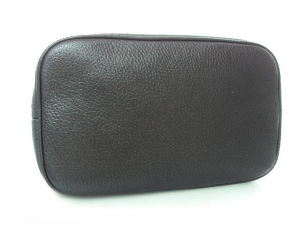 BELLMER(ベルメール) トートバッグ 黒×白×レッド レザー×化学繊維