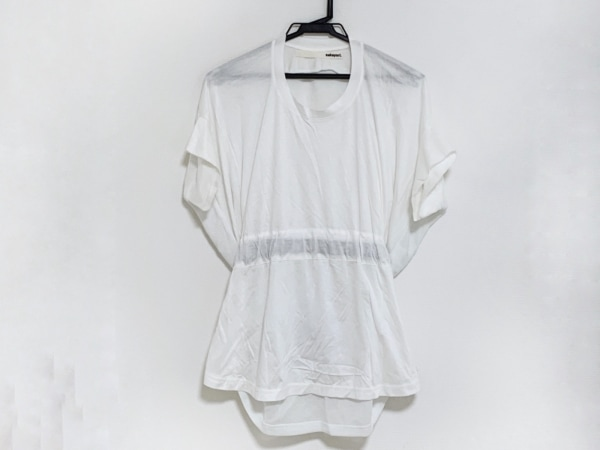 sakayori(サカヨリ) 半袖カットソー サイズ38 M レディース 白×黒