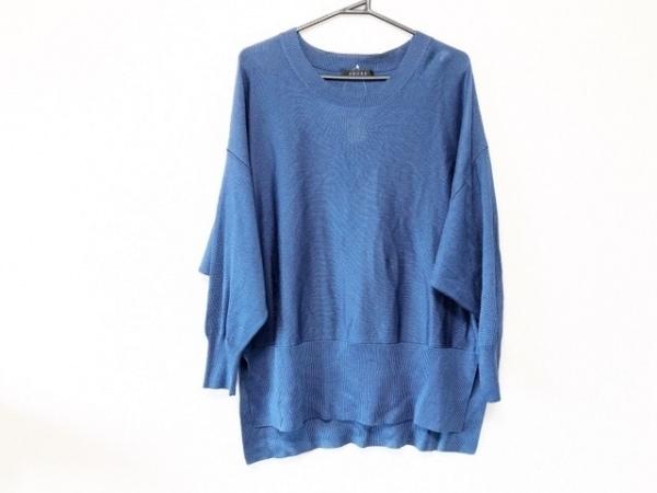 ADORE(アドーア) 長袖セーター サイズ38 M レディース ブルー