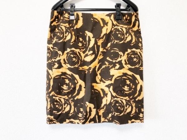 ADORE(アドーア) スカート サイズ38 M レディース美品  ブラウン×ダークブラウン