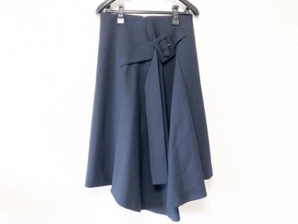 ADORE(アドーア) スカート サイズ36 S レディース新品同様  ネイビー