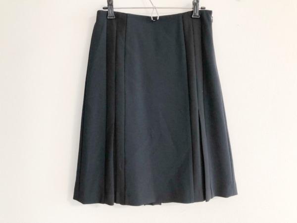 ポールスミスブラック スカート サイズ40 M レディース美品  ネイビー