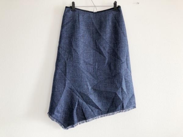ADORE(アドーア) ロングスカート サイズ36 S レディース美品  ネイビー