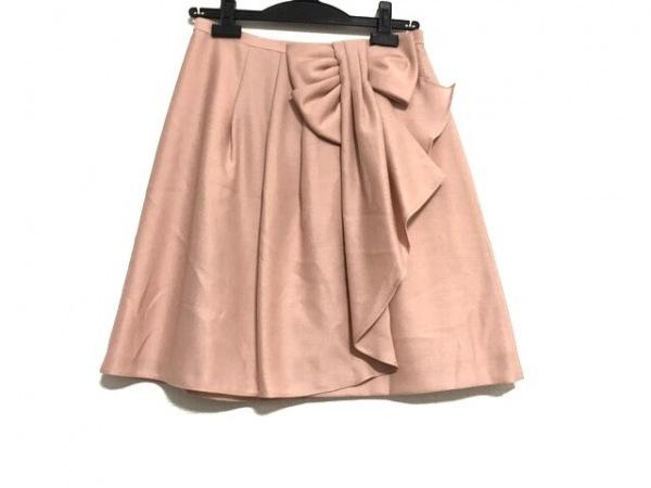 アプワイザーリッシェ ミニスカート サイズ2 M レディース美品  ピンクベージュ