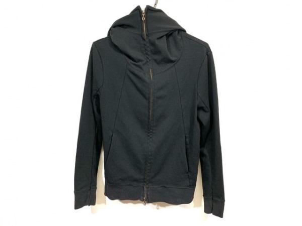SHELLAC(シェラック) ブルゾン サイズ46 XL メンズ 黒 ジップアップ/春・秋物
