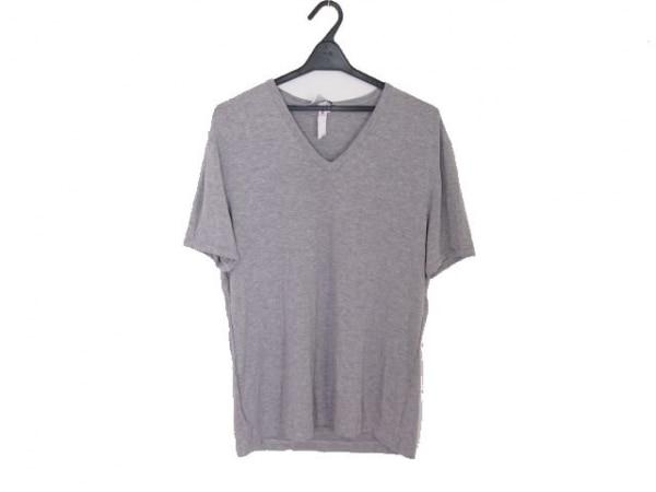 ドルチェアンドガッバーナ 半袖Tシャツ サイズL(EU) メンズ ライトグレー ニット