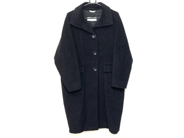 Max Mara(マックスマーラ) コート サイズ40 M レディース 黒 冬物