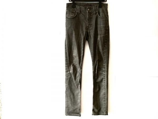 NudieJeans(ヌーディージーンズ) ジーンズ メンズ ダークグレー ダメージ加工
