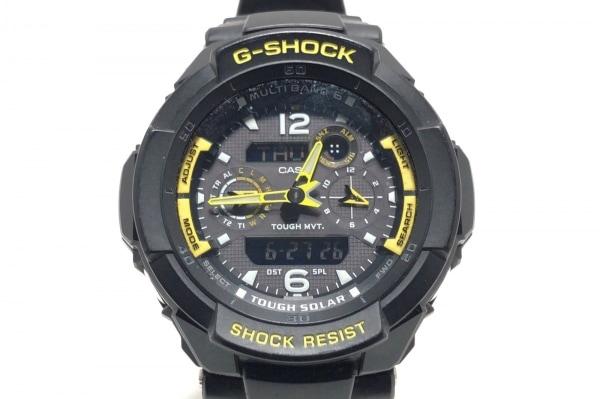 CASIO(カシオ) 腕時計 GW-3500B メンズ ラバーベルト ダークグレー