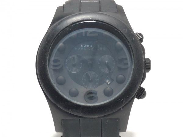 マークジェイコブス 腕時計 ペリークロノグラフ MBM2567 メンズ クロノグラフ 黒