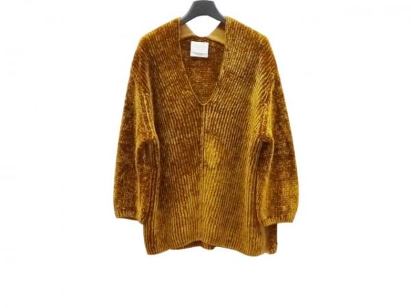 forte_forte(フォルテフォルテ) 長袖セーター サイズ1 S レディース新品同様  ベロア