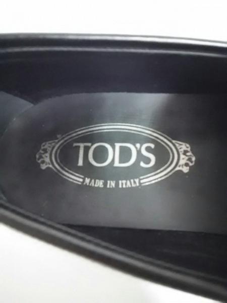 TOD'S(トッズ) ローファー 6 メンズ 黒 レザー