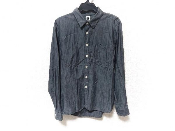 MHL.(マーガレットハウエル) 長袖シャツ サイズS メンズ美品  グレー