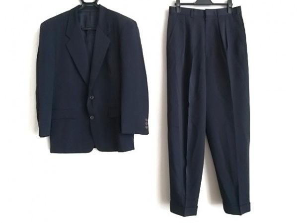 TAKEOKIKUCHI(タケオキクチ) シングルスーツ サイズ2 M メンズ ダークネイビー