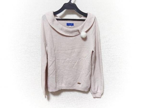 ブルーレーベルクレストブリッジ 長袖セーター サイズ38 M レディース美品  ピンク