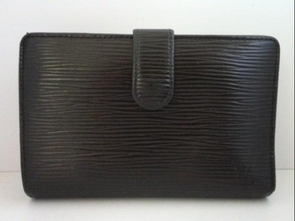 ルイヴィトン 2つ折り財布 エピ ポルト モネ・ビエ ヴィエノワ M63272 ノワール