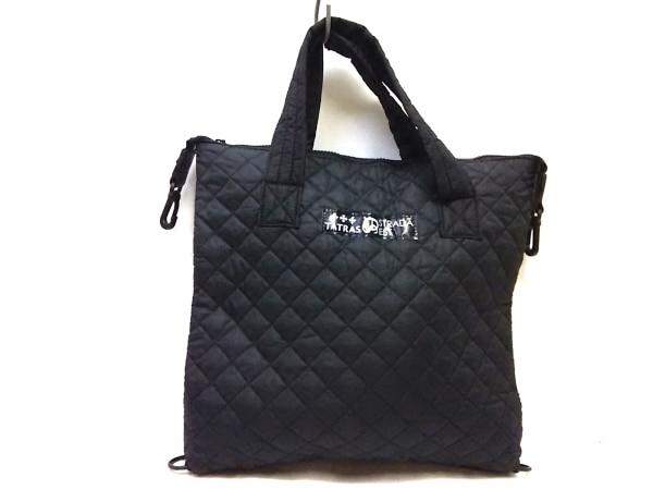 STRADA(ストラダ) ハンドバッグ美品  黒 ナイロン