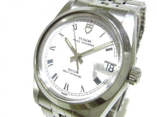 TUDOR(チューダー) 腕時計 プリンスデイト 74000 メンズ SS 白