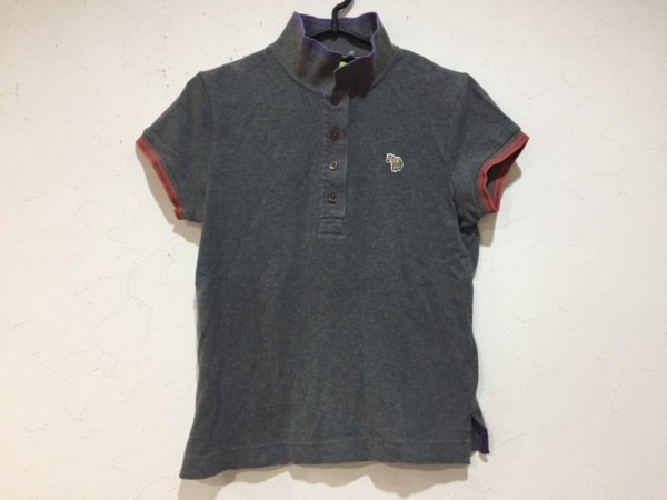 Paul+ PaulSmith(ポールスミスプラス) 半袖ポロシャツ サイズM レディース新品同様