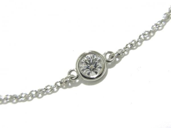 TIFFANY&Co.(ティファニー) ブレスレット新品同様  バイザヤード Pt950×ダイヤモンド
