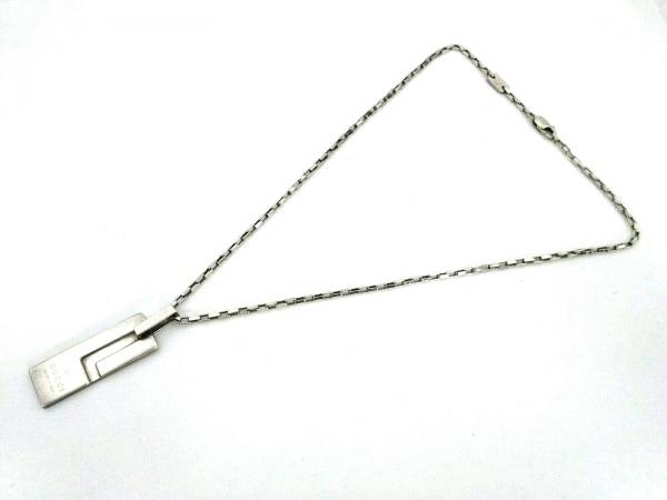 GUCCI(グッチ) ネックレス - シルバー