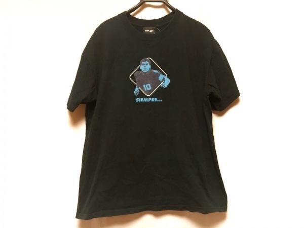 SOPHNET(ソフネット) 半袖Tシャツ メンズ ダークネイビー×ライトブルー