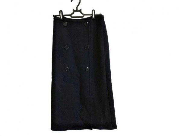 SACRA(サクラ) スカート サイズ36 S レディース ネイビー