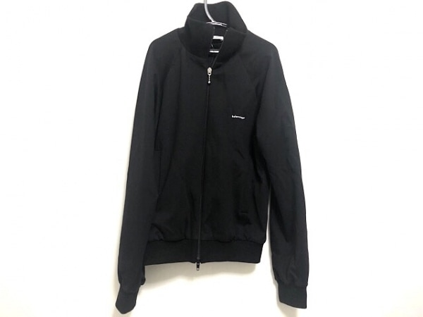 BALENCIAGA(バレンシアガ) ジャージ サイズ34 S レディース 黒 ハイネック/春・秋物