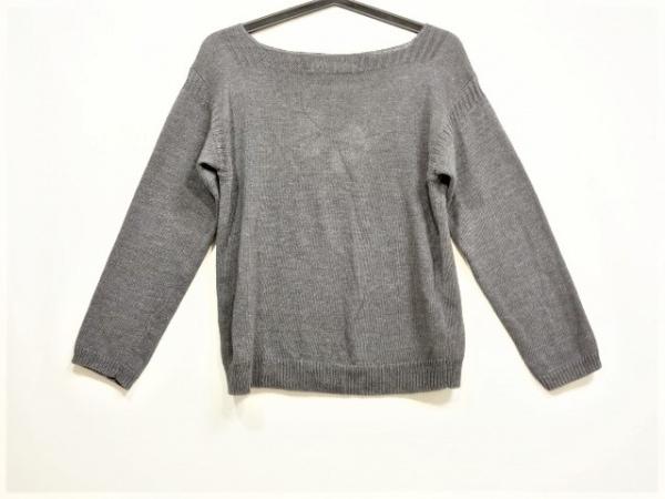 MHL.(マーガレットハウエル) 長袖セーター サイズ2 M レディース美品  ダークグレー